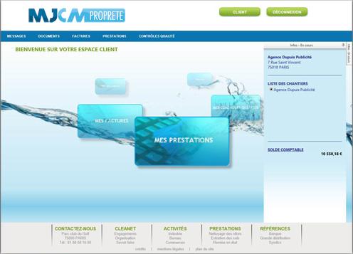 Espace Client - MJCM